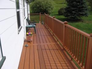 Composite Sitting Deck