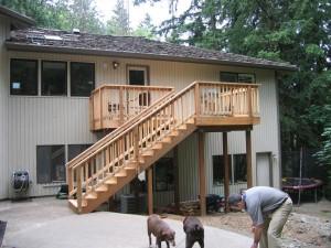 Cedar w/Stairs