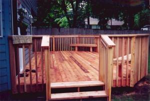 Cedar with Picket Rail