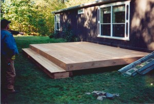 "Ground Level Cedar ""Slab"""