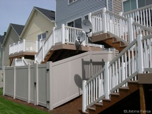 Vinyl Fence and Rail